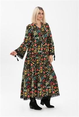 Şile Bezi Seçil Pazen Elbise
