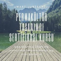 Permakültür Tasarımcı Sertifikası Kursu Mart / Nisan 2021