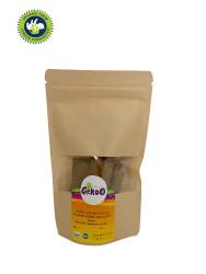 Gekoo Yulaflı Keçiboynuzlu Organik Vegan Bebek Bisküvisi 80g