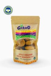 Gekoo Sütlü Organik Çocuk Bisküvisi 80gr