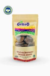 Gekoo Sütlü Keçiboynuzlu Organik Bisküvi 80gr