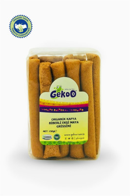 Gekoo Kapya Biberli Vegan Organik Grissini 150gr
