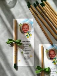 Kartlı Model, Doğum Günü Hediyeliği Baskılıtohumlu Kalem