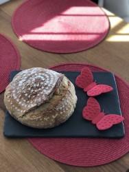 %30 Tam Buğday Unlu Ekşi Mayalı Ekmek 500 Gr