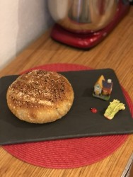Sade Ekşi Mayalı Ekmek 500 Gr
