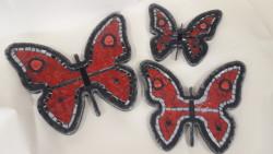 Mozaik Kelebek Seti 3lü