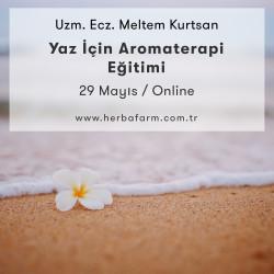Yaz İçin Aromaterapi Eğitimi