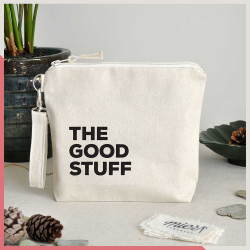 Stuff / The Good Stuff Fermuarlı El Çantası