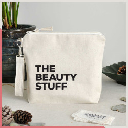Stuff - The Beauty Stuff Fermuarlı El Çantası