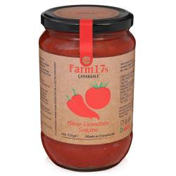 Farm17s Çanakkale Biber Domates Salçası 720 Gr