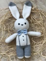 Amigurumi Bahçıvan Tavşan