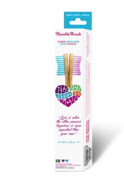 Humble Brush Sevgi Paketi Pembe-Mavi