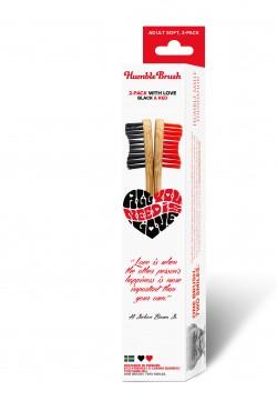 Humble Brush Sevgi Paketi Kırmızı-Siyah