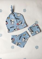 Snoopy 3'lü Bebek Seti