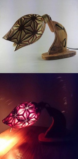 Asanoha Masa Lambası