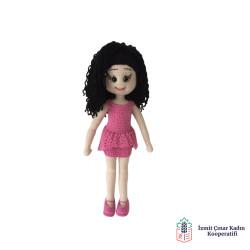 Amigurumi Organik Oyuncak Kız Bebek