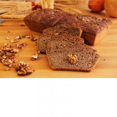 Ekşi Mayalı Cevizli Tam Buğday Ekmeği (600 Gr.)