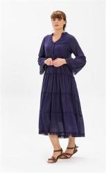 Şile Bezi Uzun Şeyma Elbise