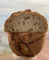 %100 Ekşi Mayalı Köy Ekmeği