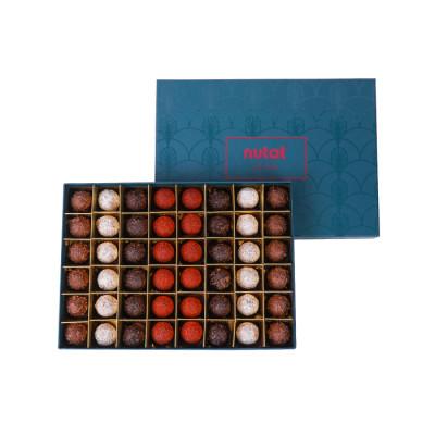 Trüf Çikolata Yeşil Premium Kutu