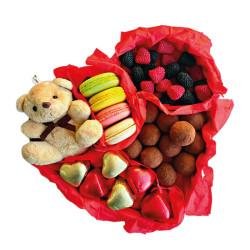 Nutat - Kalp Kutu Special Çikolata Seti