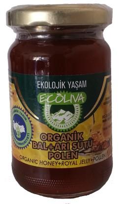 Ecoliva Organik Bal Arı Sütü Polen