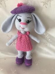 Amigurumi Sevimli Tavşan (25cm)