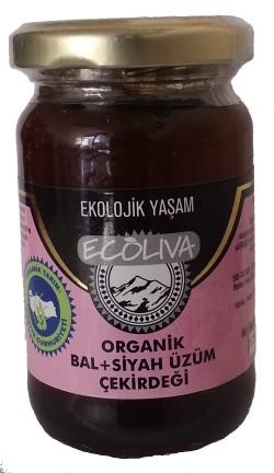 Ecoliva Bal - Siyah Üzüm Çekirdeği