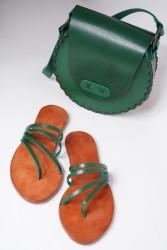 İstanbul Sandalet Hakiki Deri El Yapımı Doğal Özel Tasarım