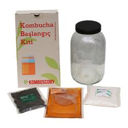 Kombuscoby Kombucha Başlangıç Kiti Mini