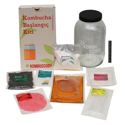 Kombuscoby Kombucha Başlangıç Kiti Maksi