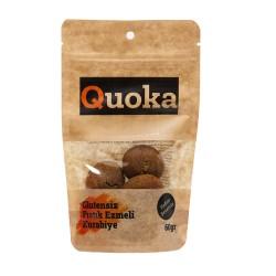 Quoka Glutensiz, Rafine Şekersiz Fıstık Ezmeli Kurabiye