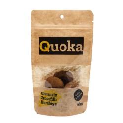 Quoka Glutensiz, Rafine Şekersiz Zencefilli Kurabiye