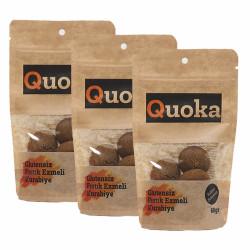 Quoka Glutensiz, Rafine Şekersiz Fıs. Ezmeli Kurabiye 3 Adet