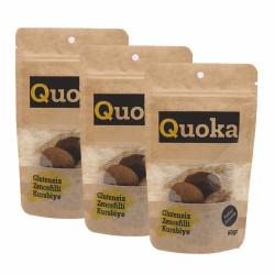 Quoka Glutensiz, Rafine Şekersiz Zencefilli Kurabiye 3 Adet