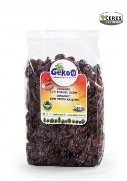 Gekoo Organik Gün Kurusu Çekirdeksiz Üzüm 250G