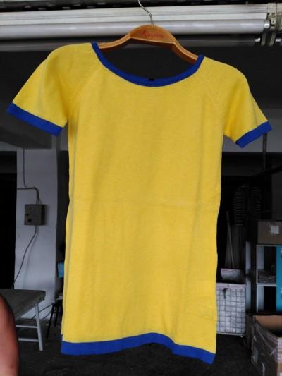 Aynur Model (Sarı-Lacivert)