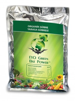 EYO GREEN BAT POWER® Organik Toz Yarasa Gübresi 2,5 kg