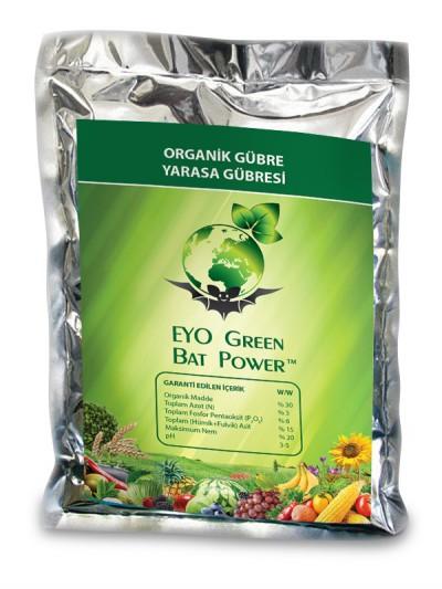 EYO GREEN BAT POWER® Organik Toz Yarasa Gübresi 10 kg